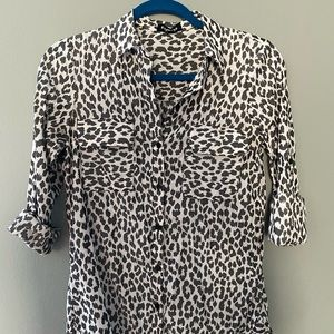 Express black and white animal The City Shirt
